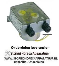 462361150 - Doseerpomp naglans zonder sturing 0,4l/h 230 VAC glansspoelmiddel slang ø 4x6mm slangtype D