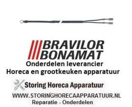 5006236188000 - Temperatuurvoeler NTC 1kOhm kabel PVC voeler -40 tot +110°C kabel -10 tot +100°C BRAVILOR, BONAMAT FRESHONE