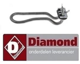803230124 - Verwarmingselement DIAMOND glazenspoelmachine D281/6