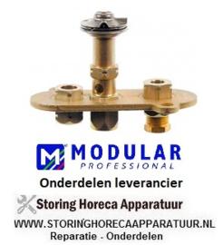 566.672.042.00 -  Waakvlambrander  3-vlammig friteuse MODULAR 65/70