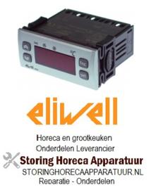 444378021 - Elektronische regelaar ELIWELL type ID961 inbouwmaat 71x29mm NTC/PTC -55 tot +150°C
