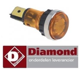 488.66304400 - Signaallamp oranje DIAMOND HHEDI/BM4