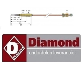 236RTCU900474 - Thermokoppel lava steengrill  DIAMOND G77/GP4TO-N