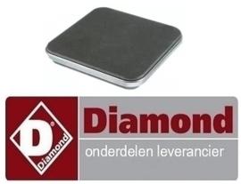 066R.TCU7002.48  - Kookplaat elektrische fornuis DIAMOND E7/2PQ4T
