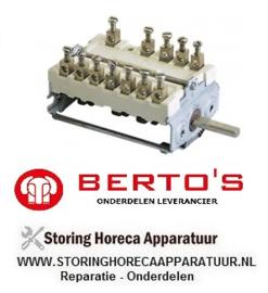 08122049800 - Nokkenschakelaar elektrische pastakoker BERTOS CPE40