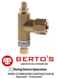 2081.009.98 - Waakvlambranderonderstuk flessengas BERTOS G7F4MPW