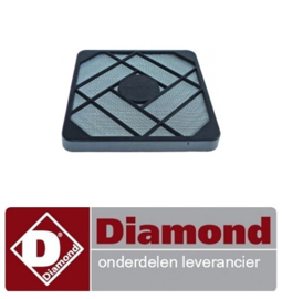 477FLTR0003  - filter L 120mm B 120mm H 7mm DIAMOND