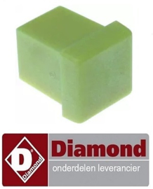 ST1D20002 - Eindkap voor spray houder ijsmaker steekmaat 16 x 16 mm DIAMOND ICE120A