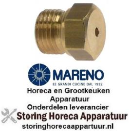 233.100.472 - Gasinspuiter draad M10x1 SB 12 boring ø 1,4mm MARENO