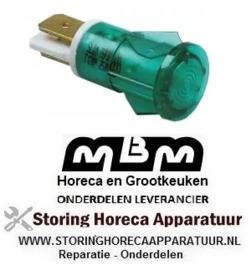 243359142 - Signaallamp ø 13mm groen friteuse MBM E77