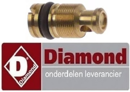 495RTCU700388 - Kleinbranderinspuiter propaangas boring ø 0,7mm voor gasfornuis DIAMOND