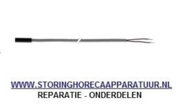 ST1379057 - Temperatuurvoeler NTC 10kOhm kabel PVC voeler -20 tot +80°C kabel -10 tot +100°C