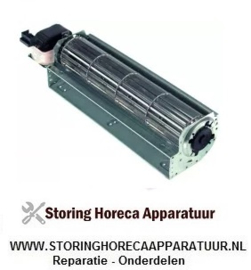 016601101 - Dwarsstroomventilator 300 mm links