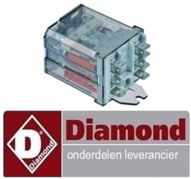 380929115 - Relai 16 AMP - 230AC voor vaatwasser DIAMOND