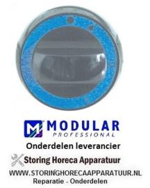 0166.12017.00 - Knop gaskraan met ontstekingsvlam gasfornuis MODULAR 70/70PCG