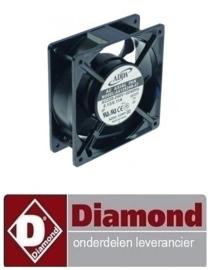 0890C4106 -VENTILATOR OP ZWARTE KADER DIAMOND SDE
