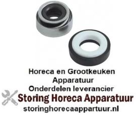 015510692 - Glijring dichting voor schacht ø 11mm schuifring buiten ø 24mm schuifring H 13mm