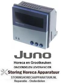 614400989 - Elektronische regelaar JUMO type iTRON 04 inbouwmaat 92x92mm 110-240V spanning AC JUNO