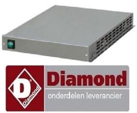 046A60/KG6 - Elektrische verwarmingskit voor warmhoudkast DIAMOND