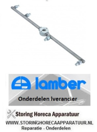 0790200804 - Naspoelarm inbouwpositie boven compleet LAMBER 050F
