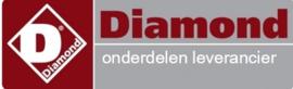 571.612.075.00 - Knop rood pastakoker DIAMOND E65/CP6T