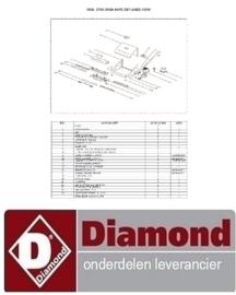 321BSINOX330 - Soldeerbalk voor vacuum Diamond VAX-33/L