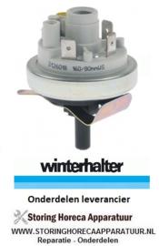 9385.430.20 - Pressostaat drukbereik 160/80 mbar WINTERHALTER