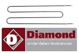 318418819 - Diamond verwarmingselement 1200W 230V Pizza