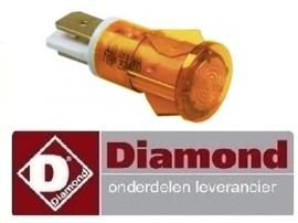 296A.080.03 - Signaallamp worsten verwarmer DIAMOND STAR-HD/RX