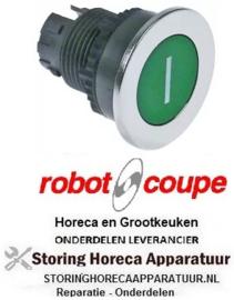 173301257 - Druktaster inbouwmaat ø22 mm groen Robot-Coupe