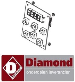 524GM5946350 - Bedieningsprintplaat voor de vacuumkoker DIAMOND HOT-BLOC