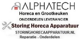 ALPHATECH - HORECA EN GROOTKEUKEN APPARATUUR REPARATIE ONDERDELEN