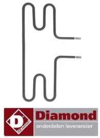 416D.020.01 - Verwarmingselement worsten verwarmer DIAMOND STAR-HD/R