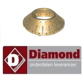 119.672.098.00  -BRANDERKOP 16 GATEN VOOR DIAMOND G65/T2BFA11