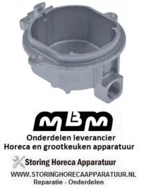 511105059 - Branderonderstuk 3 kW voor bougie ø 6 mm voor thermokoppel ø 6 mm zonder sproeier MBM
