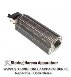 045601671 - Dwarsstroomventilator COPREL TFL(FN) rol ø 60mm wals L 240mm gelamineerde kerndikte 30mm