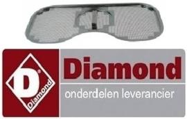 10980410 - Vlakfilter voor doorschuifvaatwasser DIAMOND D26
