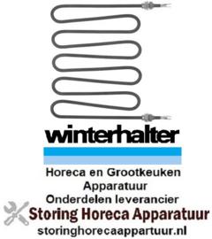 124420151 - Verwarmingselement 2000 Watt -  230 Volt voorvaatwasser WINTERHALTER