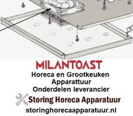 25518748  - Opvangbak (Brood) voor MILAN TOAST 18051