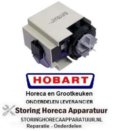 413500212 - Afvoerpomp 100 Watt - 230 Volt  50Hz zonder deksel HOBART