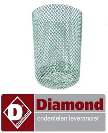 ST120005 - Rondfilter ø 28 mm H 60 mm DIAMOND ICE120A