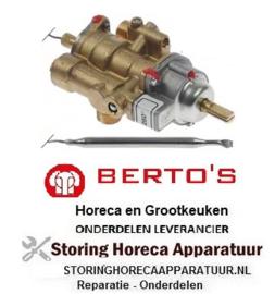 701107933 - Gasthermostaat 100-260°C BERTOS