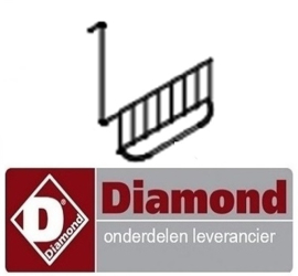 334S0003484  - Element beugel friteuse DIAMOND E65 - F20-7T
