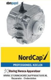 60140701060 -  Ventilatormotor 10W - 230V - 50/60Hz - KU 280-SL CNS, NordCap