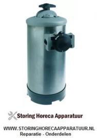 578530167 - Ontharder manueel met bypass ventiel containercapaciteit 8l harshoeveelheid 5,6l