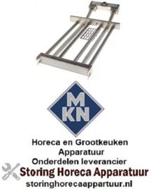 161104426 - Staafbrander 4-rijen voor kookketel MKN