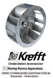 3117.6201205.00 - Ventilatorblad steamer KREFFT GG10.11NT