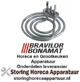 104417326 - Verwarmingselement 2160W 230V VC 1 ø 125mm H 35mm flens 50x26mm BONAMAT