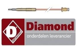 G77/4BF7-N - DIAMOND GASFORNUIS MET OVEN REPARATIE ONDERDELEN