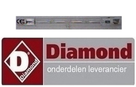 963010013 - Halogeenlamp kippengrill DIAMOND RVG/112-CM